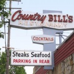 Country Bill's exterior